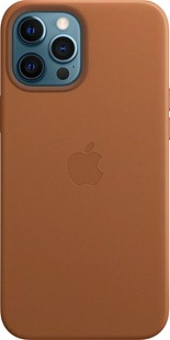 Apple iPhone 12 Pro Max Leather Case MagSafe Saddle Brown