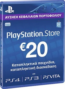 Sony Playstation Network Live Card 20 Euro