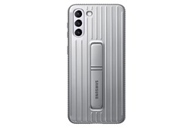 Samsung Protective Standing Cover Galaxy S21+ Light Gray