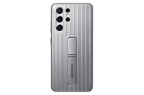 Samsung Protective Standing Cover Galaxy S21 Ultra Light Gray