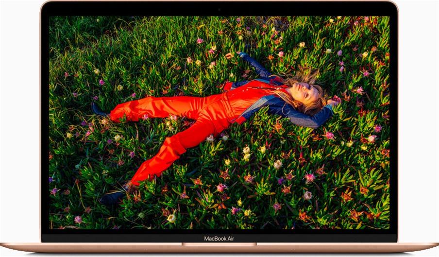 "Apple MacBook Air 13.3"" (M1/8GB/256GB/Retina Display/MacOS Big Sur) (2020) Gold GR"