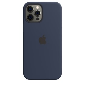 Apple Silicone Case iPhone 12 Pro Max with MagSafe Deep Navy