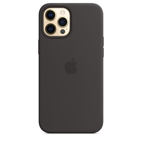 Apple Silicone Case iPhone 12 Pro Max with MagSafe Black