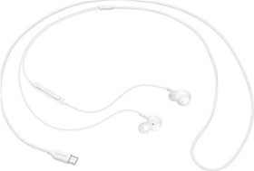 Samsung EO-IC100 In-ear Handsfree με Βύσμα USB-C Λευκό
