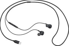 Samsung EO-IC100 In-ear Handsfree με Βύσμα USB-C Μαύρο