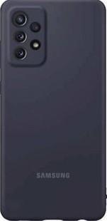 Samsung Silicone Cover Galaxy A72 Black